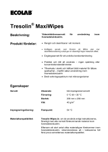 Tresolin MaxiWipes