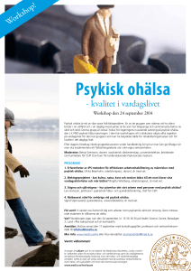 Psykisk hälsa- program 24 september 2014 (pdf 210,9 kB)