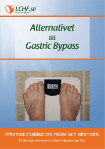 Alternativet Gastric Bypass