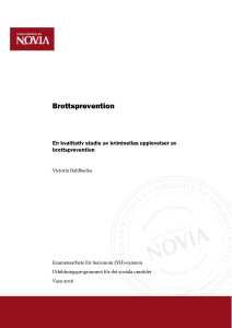 Brottsprevention