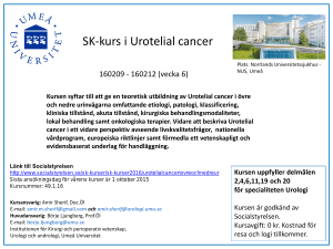 SK-kurs i Urotelial cancer