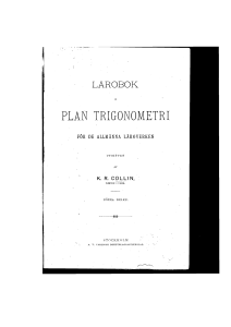 plan trigonometri