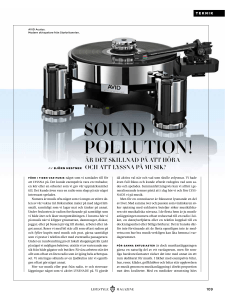 sound pollution! - Sweetspot Events