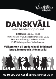 med bandet Gripsound