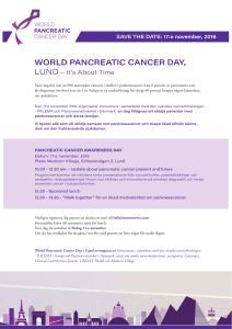 WORLD PANCREATIC CANCER DAY,