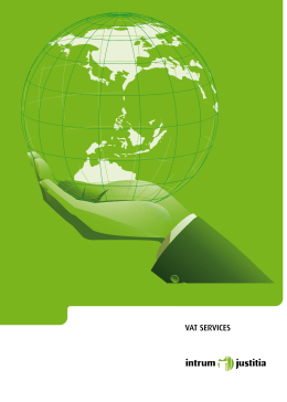 vat services - Intrum Justitia
