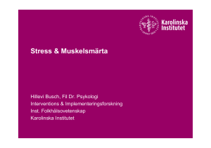 Stress - Ping Pong - Karolinska Institutet