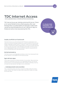 TDC Internet Access