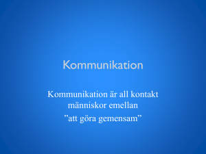 Kommunikation - WordPress.com