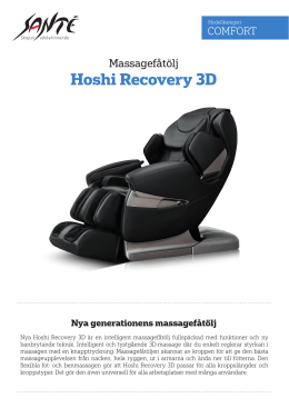 Hoshi Recovery 3D