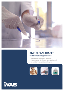 3m™ clean-trace - Indevex Watertech AB