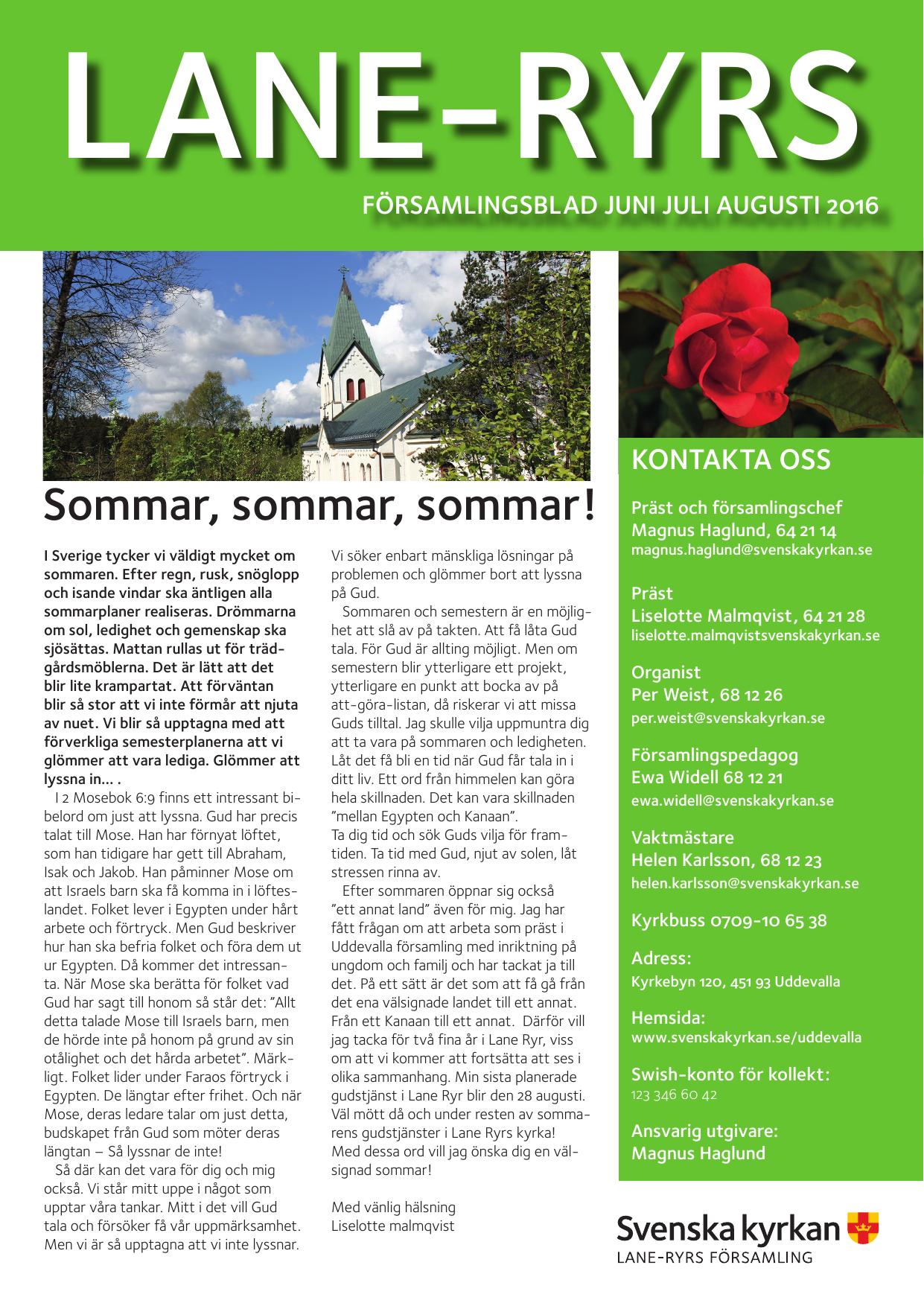 Lediga jobb fr Kvll i Lane-Ryr | unam.net