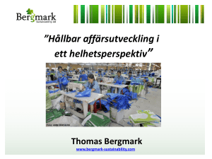 Thomas Bergmark - Nordic Publishing