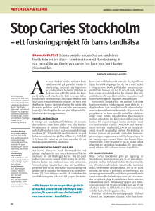 Stop Caries Stockholm