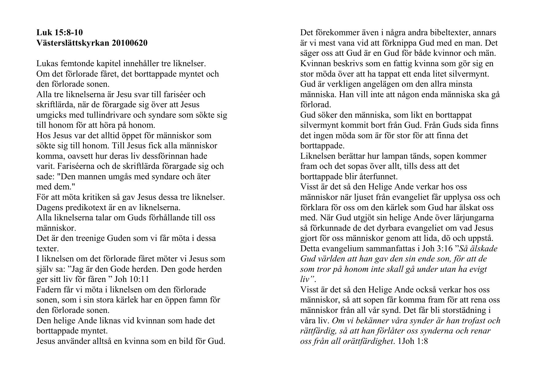Dalby kyrka - Dalby frsamling - en levande kristen gemenskap!