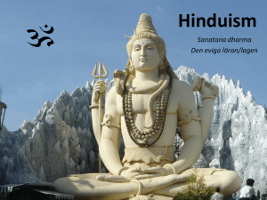 Hinduism Bildspel Powerpoint - Elin Harring