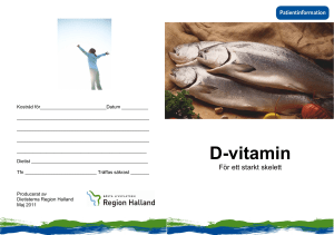 D-vitamin - Region Halland