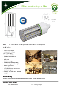 LED Cornlight Cassiopeia Mini