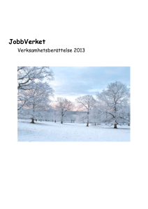 JobbVerket - Amazon Web Services