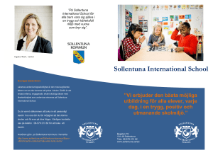 Sollentuna International School