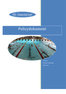 NSS-Policy dokument 2016
