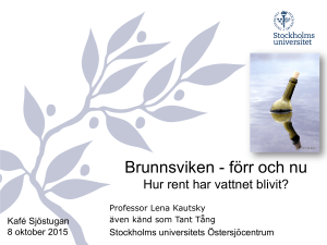 Brunnsviken - WordPress.com