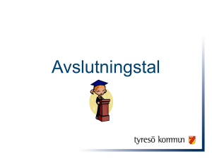 Avslutningstal - Textalk Webnews