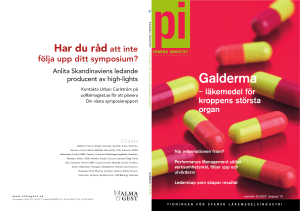 Galderma - Pharma industry