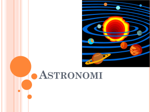 Astronomi - WordPress.com