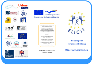 ELICIT European Literacy and Citizenship Education