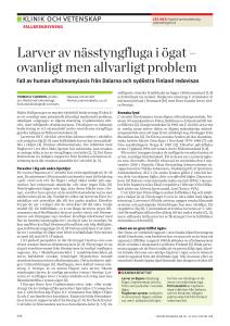 Forskaren om tyska larvinvasionen: Ibland blir det