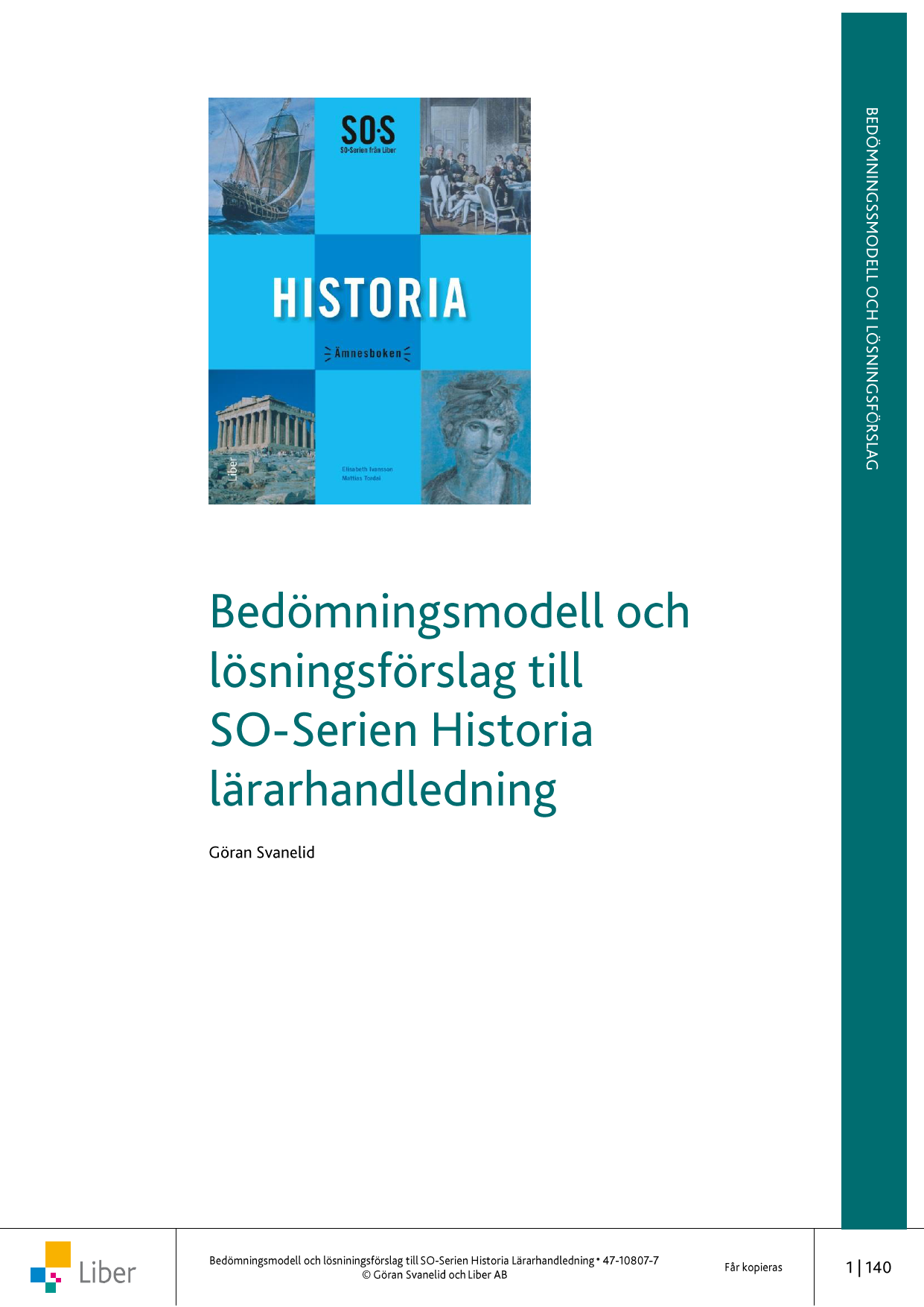 4853a48e0708 Provlektion: Historisk referensram Begreppsförståelse