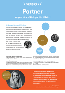 Partner - Connect Sverige